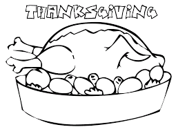 free printable thanksgiving coloring pages kids