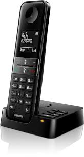 cordless phone with answering machine d4551b 05 philips
