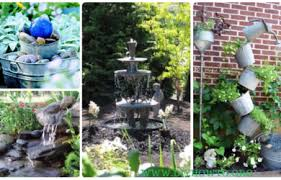 Diy Patio Fountain Garden Archives U2022 Diy How To