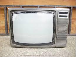 obsolete technology tellye toshiba color tv model n c2295t1