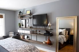 interior furniture bedroom shelves design ideas tv wall depot and