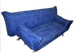 canapé clic clac 2 places canapé clic clac 2 places tissu bleu sans pied 37832 38225