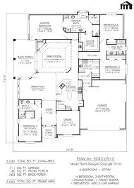 2000 Square Foot Ranch House Plans Modern House Plans Concrete Floor Beach Lrg 48b9557e002 Plan
