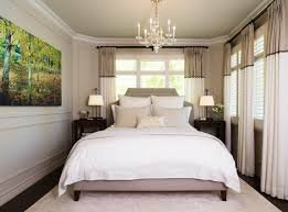 best paint colors to make a small bedroom look bigger with bedside