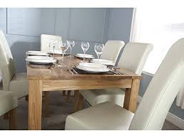 Oak Dining Table Uk Charter Solid Oak Dining Table Butchers Block Table Top Design