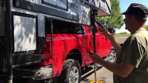 Ram 3500 Truck Camper - loading camp lite livin lite truck camper ram 3500 youtube