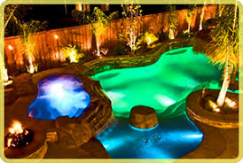 upgrade to color led pool lights intheswim pool