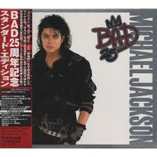 Michael Jackson Bad Album Bad 25 Japanese Regular Edition By Michael Jackson Cd X 2 With