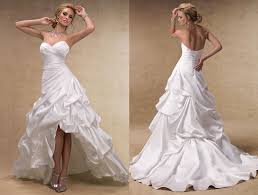 robe mari e courte devant longue derriere robe de mariee moderne froisse courte devant longue derriere