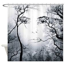Tree Curtain Tree Shower Curtains Tree Fabric Shower Curtain Liner