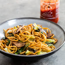 shiitake and bok choy lo mein cook u0027s country recipes ethnic