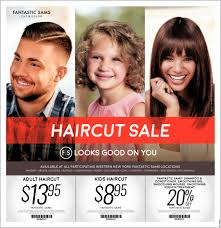 haircut sale fantastic sams cut and color