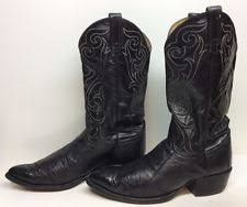 lucchese s boots size 11 lucchese mens heritage barnwood burnished smooth ostrich leather