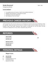 Industrial Resume Templates Sample Resume Hospitality Industry Thank You For Being My