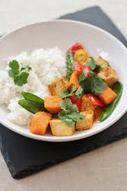 Thai Red Pumpkin Curry Recipe by Thai Red Tofu And Sweet Potato Curry Vegan Easy Peasy Foodie