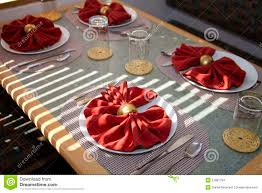 Fancy Place Setting Dinner Plate Table Place Setting Stock Images Image 21881794