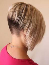 short stacked bob haircut shaved undercut shaved stacked inverted bob haircut http