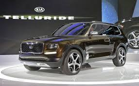 suv kia kia telluride concept mixes 400 hybrid hp sorento platform and