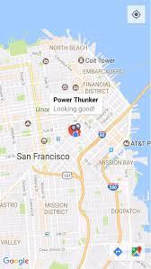 Google Map San Francisco by Visualization