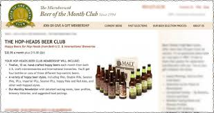 monthly clubs ipa of the month club review
