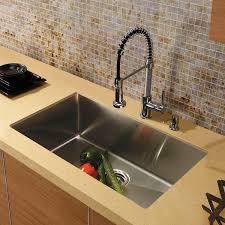 kitchen sink faucet set vigo all in one 32 mercer stainless steel undermount kitchen sink