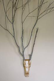 branch home decor 8 best deer skull designs images on pinterest deer skulls skull
