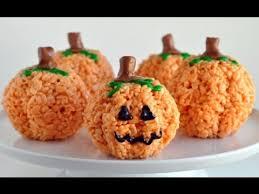 rice crispy treat pumpkins pumpkin rice krispie treats recipe