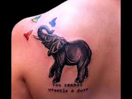 30 cool and meaningful elephant tattoo designs