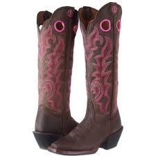 womens pink cowboy boots sale tony lama 3r buckaroo 16 chocolate yukon cowboy boots polyvore