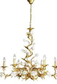porcelain chandelier roses gold leaf chandelier with italian white porcelain roses lorella dia