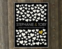 modern wedding guest book wedding guestbook alternative modern wedding guest book