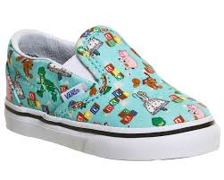 vans classic slip toddlers andys toys multi toy story kids