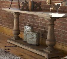 Driftwood Sofa Table by Beach House Furniture Ebay