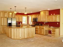 cherry wood portabella lasalle door rustic hickory kitchen