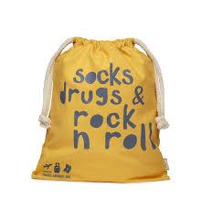 travel laundry bag images Travel laundry bag in premium canvas 39 socks drugs 39 by rocket jpg