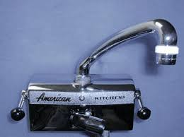 antique kitchen sink faucets a special faucet for vintage american brand kitchen drainboard