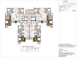 Carnival Floor Plan Ramky One Carnival Floorplan 2 Bhk 3 Bhk