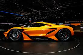 mclaren p1 side view the apollo p1 err arrow