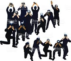 paparazzi clipart paparazzi photojournalists photographers stock vector more
