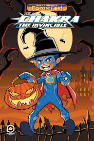 free holloween stan lee u0027s chakra the invincible free halloween comic fest