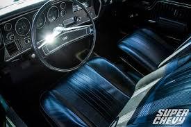1970 Chevelle Interior Kit 1970 Chevrolet Ls6 Chevelle Test Drive Super Chevy Magazine