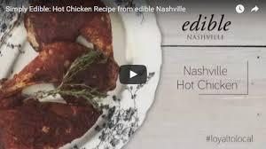 simply edible recipe nashville hot chicken