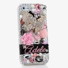 Name Style Design by Bling Cases Personalized Name Custom Made Crystals Diamond