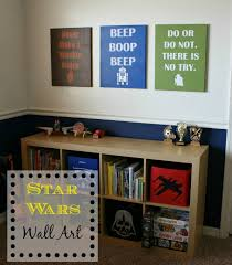 Star Wars Bedroom Furniture by Diy Star Wars Wall Decor Plus Free Svg Files Walls Room And