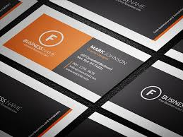 Minimal Business Card Designs Modern Minimal Corporate Business Card Template Free Download