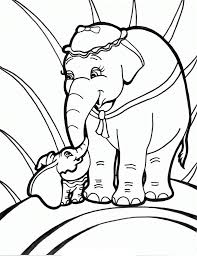 elephant coloring pages and book uniquecoloringpages baby elephant
