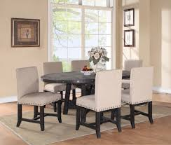 8 piece dining room set sheridan round extension pine dining table wood metal dining