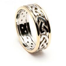 celtic wedding sets wedding rings types of celtic knots knot wedding band