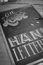 the lost art of hand lettering on behance