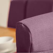 purple chair covers set of 4 purple fabric dining chair covers for scroll top high